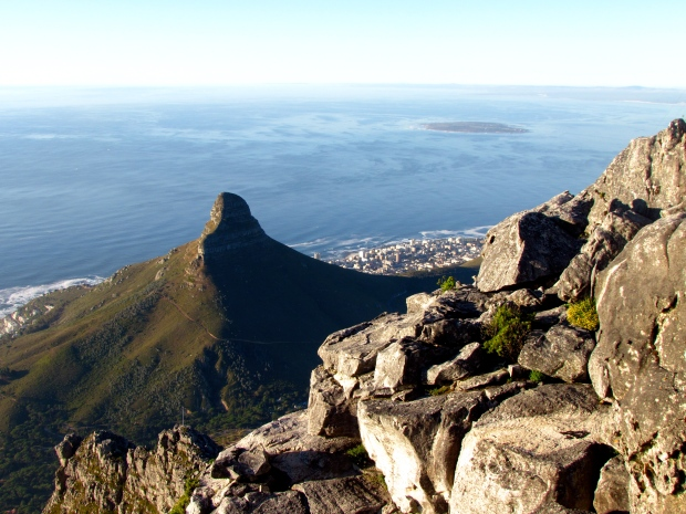 Lion's head; Picture taken from the top of Table Mountain